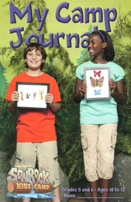 My Camp Journal, Grades 5 & 6 (Ages 10-12)  -