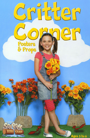 Critter Corner Posters and Props, Pre-K-Kindergarten (Ages 3-6)  -
