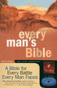 NLT Every Man's Bible, Softcover  -     Edited By: Stephen Arterburn, Dean Merrill     By: Stephen Arterburn & Dean Merrill