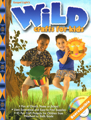 Wild Crafts for Kids Craft Book  -