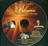 How a Wife Can Use Reverence to Build or Save Her Marriage Audio CD  -     By: Dr. S.M. Davis