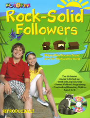 Kidstime: Rock-Solid Followers: Helping Kids Discover Jesus' Love for Them and the World - Slightly Imperfect  -