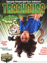 Treehouse Student Magazine, Kindergarten , Ages 5 to 6  -