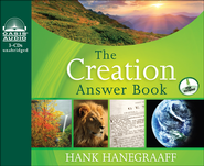 The Creation Answer Book Unabridged Audiobook on CD  -              By: Hank Hanegraaff