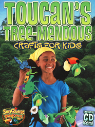 Toucan's Tree-mendous Crafts for Kids, with CD  -