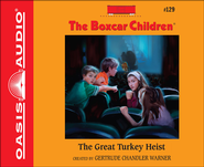 The Great Turkey Heist Unabridged Audiobook on CD  -              By: Gertrude Chandler Warner