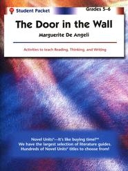 The Door in the Wall, Novel Units Student Packet, Grades 5-6   -     By: Marguerite De Angeli