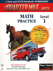 The Quarter Mile Math: Grades K-3 Single CD-ROM   -