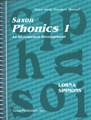 Saxon Phonics 1, Teacher's Manual   -