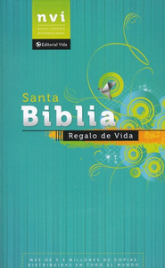 NVI Biblia Regalo de Vida, NVI Holy Bible Gift of Life - Slightly Imperfect  -