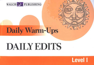 Daily Warm-Ups: Daily Edits Level 1   -     By: Hannah Jones
