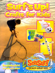 Surfs Up! Crafts for Kids with CDROM  -