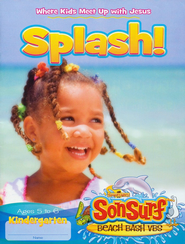 Splash! Student Fun Pages: Where Kids Meet Up with Jesus, Kindergarten, Ages 5 to 6  -