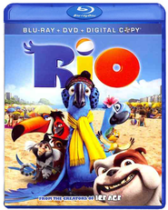 Rio, Blu-ray/Digital Copy/DVD Combo   -