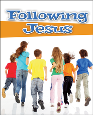 Following Jesus Discipleship Booklet, Package of 20  -