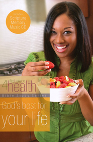 God's Best for Your Life, Bible Study & Scripture Memory CD   -              By: First Place 4 Health