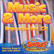 SonSurf Music & More Reproducible CD: Featuring Songs in Split-Track Stereo!  -