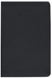 KJV Personal Concord Reference Bible, French morocco leather,   black, Thumb-Indexed  -