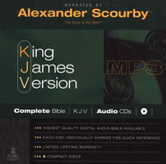 Scourby KJV Complete Bible Audio MP3 CD  -     Narrated By: Alexander Scourby     By: Narrated by Alexander Scourby