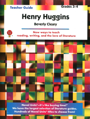 Henry Huggins, Novel Units Teacher's Guide, Grades 3-4   -     By: Beverly Cleary