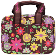Floral Handbag Bible Cover, Large   -