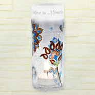 Believe in Miracles Candle Holder  -