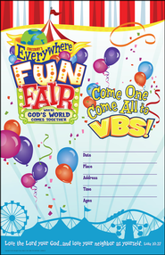 VBS 2013 Everywhere Fun Fair: Where God's World Comes Together - Large Promotional Poster  -