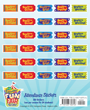 Attendance Stickers, pack of 24    -