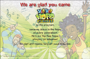 VBS 2013 Hip-Hop Hope: Jesus Makes Me Glad! - Student Certificate (Pkg of 25)  -