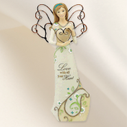 Love With All Your Heart Angel Figurine  -