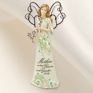 Mothers are Like Flowers, Angel Figurine   -