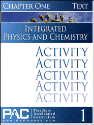 Integrated Physics and Chemistry Activity Booklet, Chapter 1   -