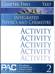 Integrated Physics and Chemistry Activity Booklet, Chapter 2   -