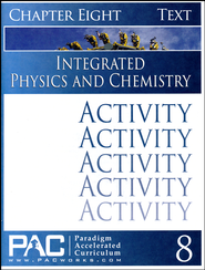 Integrated Physics and Chemistry Activity Booklet, Chapter 8   -