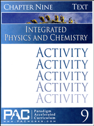 Integrated Physics and Chemistry Activity Booklet, Chapter 9   -