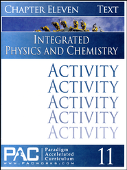 Integrated Physics and Chemistry Activity Booklet, Chapter 11   -