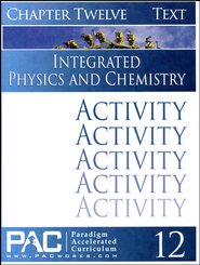 Integrated Physics and Chemistry Activity Booklet, Chapter 12  - Slightly Imperfect  -