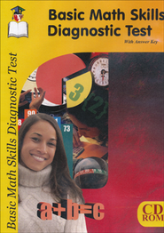 Basic Math Skills Diagnostic Test CD   -