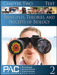 Principles, Theories & Precepts of Biology, Chapter 2 Text  -