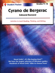 Cyrano de Bergerac, Novel Units Student Packet, Grades 9-12   -     By: Edmond Rostand