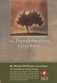 The NLT Transformation Study Bible - imitation leather, brown  -     Edited By: Warren W. Wiersbe