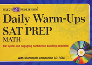Daily Warm-Ups: SAT Prep-Math with CD-Rom  -