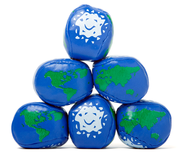 Earth Balls, pack of 12  -