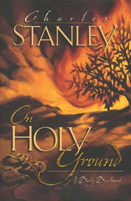 On Holy Ground: A Daily Devotional  - Slightly Imperfect  -     By: Charles F. Stanley