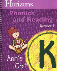 Horizons Phonics & Reading, Grade K, Reader 1   -