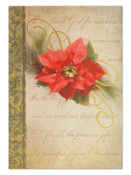 Thanking God Christmas Card, Box of 20   -