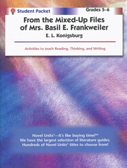 From the Mixed-Up Files of Mrs. Basil E. Frankweiller Novel Units -Student Pack 5-6  -     By: E.L. Konigsburg