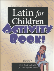 Latin for Children A Activity Book   -