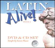 Latin Alive! Book Two DVD & CD Set   -