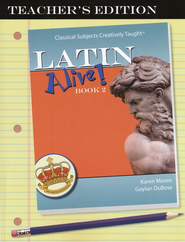 Latin Alive! Book Two, Teacher's Edition   -